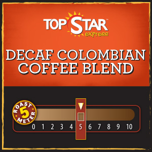 <strong>Decaf Colombian Coffee Blend</strong> <br />