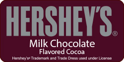 <strong>Hershey's Hot Chocolate</strong> <br /> Smooth chocolate blended together with milk for a sweet warm up – it's pure happiness in a cup!