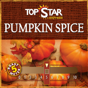 <strong>Pumpkin Spice Coffee Blend</strong><br /> A blend of warm spices and vanilla crème reminiscent of a Thanksgiving pie now available for a limited time.