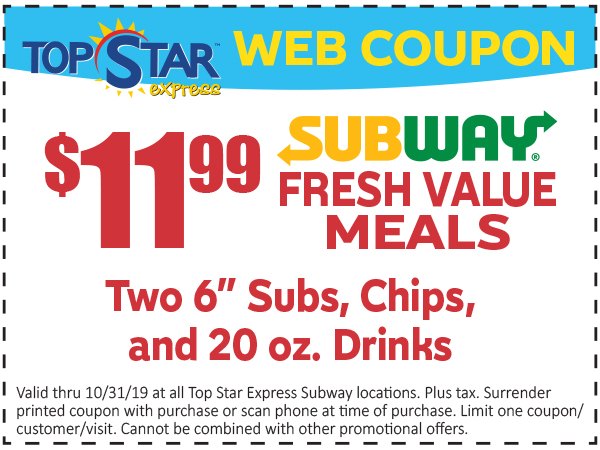 2 Fresh Value Meals 11.99