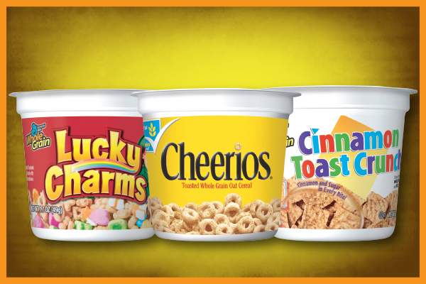 General Mills Cereal Cups