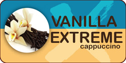 <strong>Vanilla Extreme Cappuccino</strong><br /> Take your favorite vanilla to the extreme with an extra kick of caffeine!